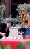 Amanda Bynes & Doug Reinhardt in the Bahamas