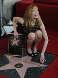 Марж Хелгенбергер, фото 511. Marg Helgenberger Hollywood Walk of Fame Induction Ceremony - January 23, 2012, foto 511