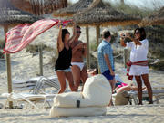 Melissa Satta | Bikini Candids on the Beach in Formentera | June 30 | 15 hot pics