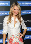 Katrina Bowden @ The Social Network screening in NYC 9/29/10 (Legs)