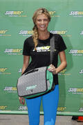 Erin Andrews- Limited Edition SUBWAY Bag Unveiling at Pier 96 in New York 06/12/13 (HQ)