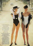 Christy Turlington with Linda Evangelista: Vogue (UK) 05/1990, ph. Patrick Demarchelier Foto 103 (������ ���������� � ����� �����������: Vogue (��������������) 05/1990, ���.  ���� 103)