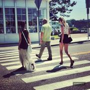 Taylor Swift & Selena Gomez- Out in Mystic CT 06/21/13 pics + Vine vid