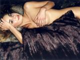 Gail Porter - Topless (But Covered) Wallpapers x 5