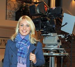 Магдалена Ньюнер, фото 77. Magdalena Neuner 'Sturm der Liebe' - Set Bavaria Studios - 02.11.2011, foto 77