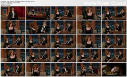 Christina Hendricks @ Late Late Show 2013-03-06 [VIDEO]