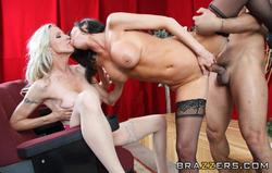 Bigtitsatschool - Emma Starr, Veronica Avluv - Sloppy Substitute *December 27, 2011*