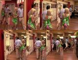 Allison Munn - panties oops from Carpoolers 1-03 (video)